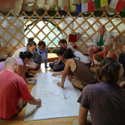 teaching at APplewood Permaculture Centre